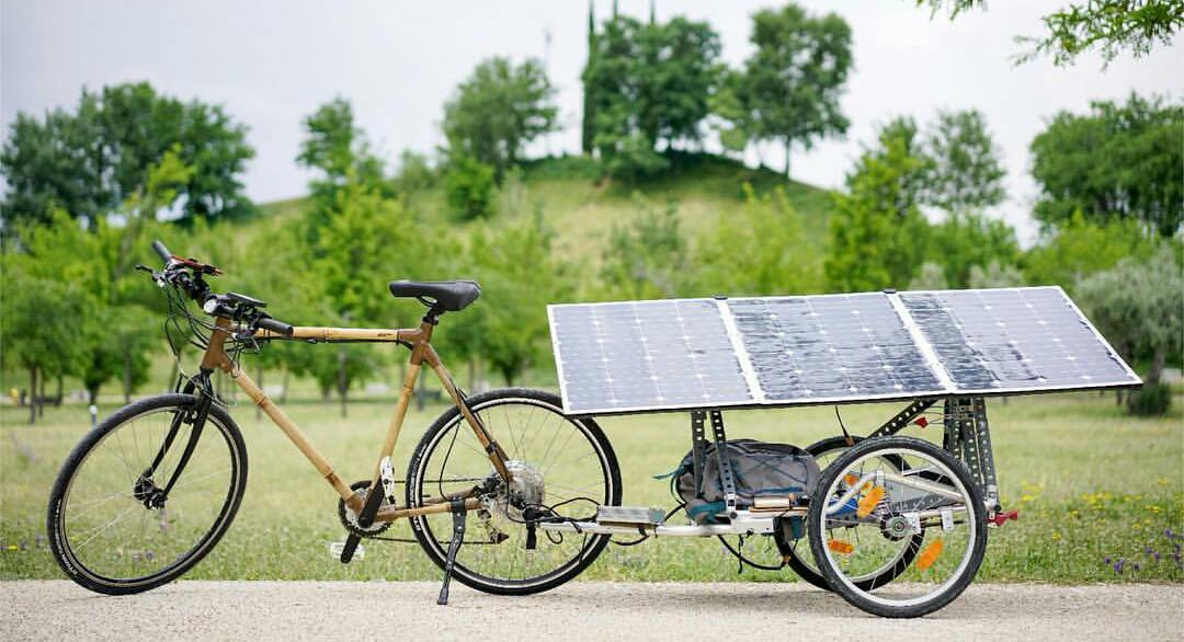 Bicicleta solar recorrerá España para fomentar el autoconsumo energético